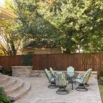 Outdoor patio and seating area